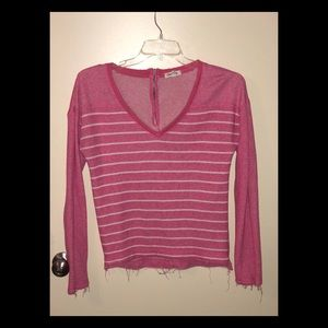 Pink Stripped sweater